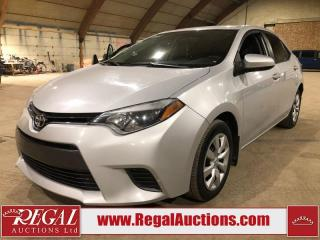 Used 2015 Toyota Corolla LE 4D Sedan FWD for sale in Calgary, AB