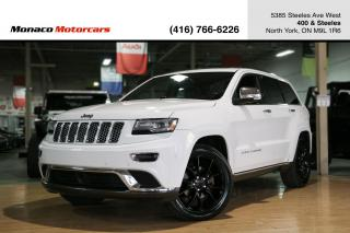 Used 2014 Jeep Grand Cherokee SUMMIT 4WD - ACC|BLINDSPOT|PANOROOF|NAVI|BACKUP for sale in North York, ON
