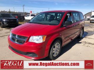 Used 2016 Dodge Grand Caravan CVP Wagon 3.6L for sale in Calgary, AB