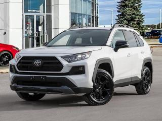 New 2021 Toyota RAV4 Trail AWD W/TWO TONE PAINT for sale in Winnipeg, MB