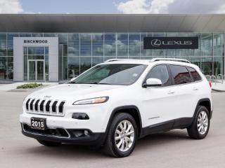 Used 2015 Jeep Cherokee Limited 4X4 for sale in Winnipeg, MB