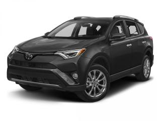 Used 2017 Toyota RAV4 LIMITED  for sale in Winnipeg, MB