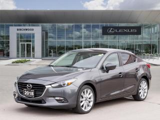 Used 2018 Mazda MAZDA3 GT for sale in Winnipeg, MB