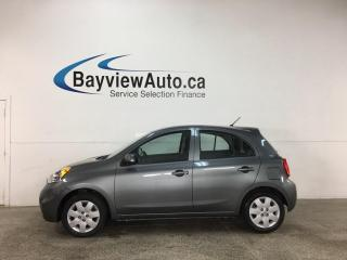 Used 2019 Nissan Micra SV - AUTO! REVERSE CAM! for sale in Belleville, ON