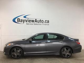 Used 2017 Honda Accord Sport - PANOROOF! 1/2 LEATHER! 19