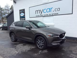 Used 2018 Mazda CX-5 LEATHER, SUNROOF, NAV, HEATED SEATS, BEAUTY GT!! for sale in Richmond, ON