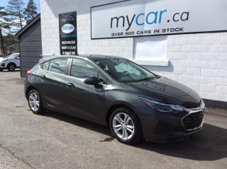 Used 2019 Chevrolet Cruze LT ALLOYS, HEATED SEATS, BACKUP CAM, BLUETOOTH!! for sale in North Bay, ON