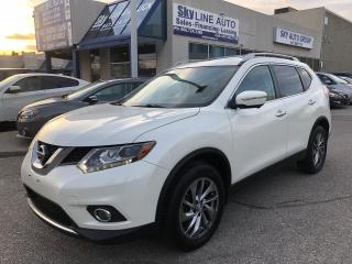 Used 2015 Nissan Rogue SL AWD|NAVIGATION|CAMERA|LANE ASSIST|ALLOYS for sale in Concord, ON