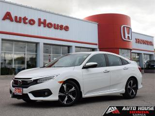 Used 2017 Honda Civic Touring w/NAVI for sale in Sarnia, ON