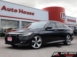 Used 2018 Honda Accord TOURING 2.0T w/NAVI - 10AT for sale in Sarnia, ON