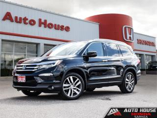 Used 2018 Honda Pilot TOURING AWD - LOW KMS! for sale in Sarnia, ON