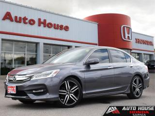 Used 2017 Honda Accord Sedan TOURING w/NAVI - LOW KMS! for sale in Sarnia, ON