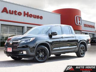 Used 2018 Honda Ridgeline Black Edition AWD - LOW KMS! for sale in Sarnia, ON
