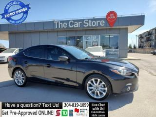 Used 2014 Mazda MAZDA3 GT-SKY Leather Sunroof Heads Up DiSPLAY, full load for sale in Winnipeg, MB
