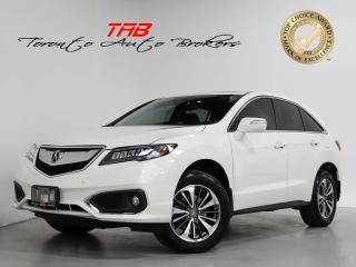Used 2017 Acura RDX ELITE PACKAGE I NAVI I SUNROOF I 1-OWNER for sale in Vaughan, ON