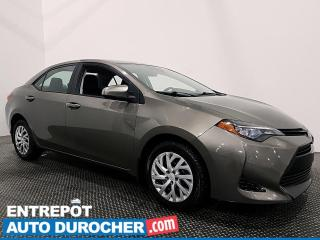 Used 2017 Toyota Corolla LE - Automatique - Climatiseur for sale in Laval, QC