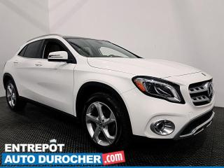 Used 2019 Mercedes-Benz GLA GLA 250 - AWD - CUIR - TOIT OUVRANT - CLIMATISEUR for sale in Laval, QC