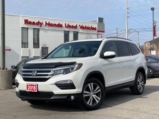 Used 2018 Honda Pilot EX-L Navi - Leather - Sunroof - Lane Watch Camera for sale in Mississauga, ON