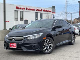 Used 2018 Honda Civic Sedan EX - Sunroof - Lane watch - Rear Camera for sale in Mississauga, ON
