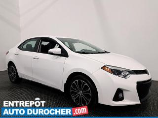 Used 2015 Toyota Corolla S - CUIR - TOIT OUVRANT - CLIMATISEUR for sale in Laval, QC