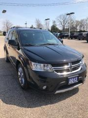 Used 2013 Dodge Journey R/T AWD with POWER SUNROOF LEATHER for sale in Petrolia, ON
