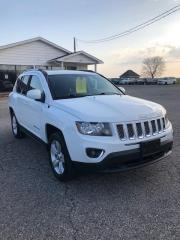 Used 2016 Jeep Compass Sport Altitude Package LEATHER & SUNROOF for sale in Petrolia, ON