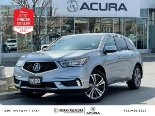 Used 2020 Acura MDX Tech Plus for sale in Markham, ON