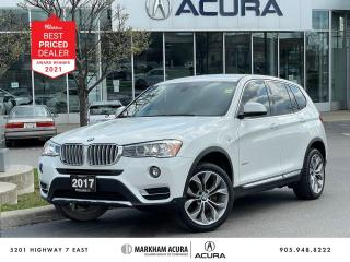Used 2017 BMW X3 xDrive28i for sale in Markham, ON