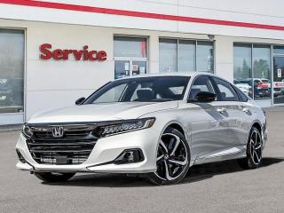 New 2021 Honda Accord SE for sale in Brandon, MB