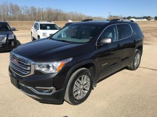 Used 2017 GMC Acadia SLE for sale in Roblin, MB