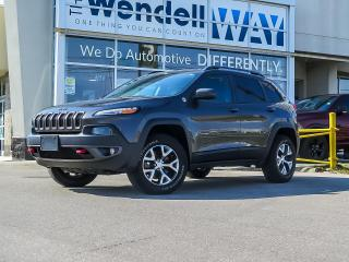 Used 2017 Jeep Cherokee Trailhawk V6 Nav for sale in Kitchener, ON