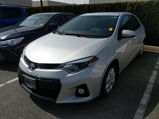 Used 2016 Toyota Corolla S Technology Package, Certified, No Accidents for sale in North Vancouver, BC