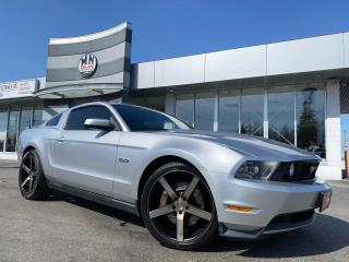 Used 2011 Ford Mustang GT PREMIUM 5.0L 6SPD MANUAL LEATHER BREMBO BRAKES for sale in Langley, BC