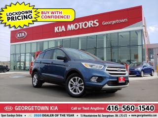 Used 2018 Ford Escape SEL | CLN CRFX | LTHR | NAV | BT | HTD SEATS | 56K for sale in Georgetown, ON