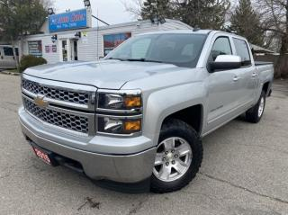 Used 2015 Chevrolet Silverado 1500 4WD Crew Cab LT ALL TERRAIN TIRES, for sale in Brampton, ON