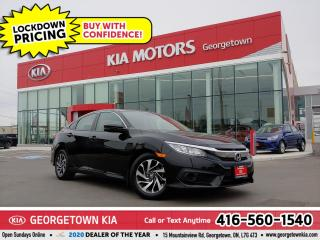 Used 2018 Honda Civic Sedan EX | CLN CRFX | B/U CAM | SUNROOF | B/T | 65K | BT for sale in Georgetown, ON
