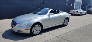 Used 2003 Lexus SC 430 2DR Convertible for sale in Richmond Hill, ON
