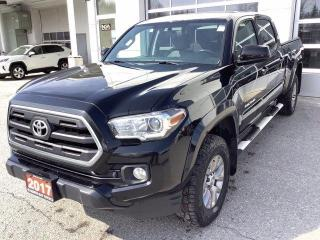 Used 2017 Toyota Tacoma 4WD Double Cab V6 Auto SR5 for sale in North Bay, ON