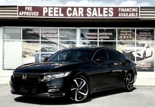 Used 2018 Honda Accord Sport CVT|CLEANCARFAX|PRICE.MATCH.POLICY|PRECERTIFIED| for sale in Mississauga, ON