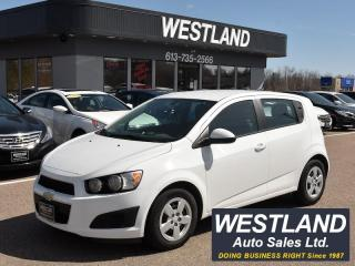 Used 2014 Chevrolet Sonic LS for sale in Pembroke, ON
