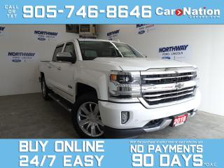 Used 2018 Chevrolet Silverado 1500 HIGH COUNTRY | 4X4  | ROOF | NAV | UPGRADED TIRES for sale in Brantford, ON