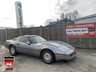 Used 1986 Chevrolet Corvette Coupe Summer Classic for sale in Brantford, ON