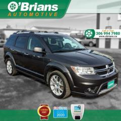 Used 2014 Dodge Journey R/T - Accident Free! w/AWD, Command Start, Leather, Third-row Seating, DVD, Loaded for sale in Saskatoon, SK