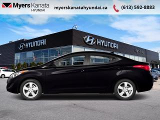 Used 2013 Hyundai Elantra GL  - $62 B/W for sale in Kanata, ON