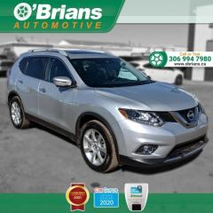 Used 2016 Nissan Rogue SV - Accident Free! w/AWD, Command Start, Navigation, Leather for sale in Saskatoon, SK