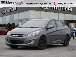 Used 2017 Hyundai Accent GL  - $100 B/W - Low Mileage for sale in Kanata, ON