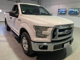 Used 2016 Ford F-150 XLT Reg Cab 4X4 #Low Kms #Bluetooth #Rear View Camera for sale in Brandon, MB