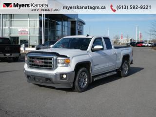 Used 2015 GMC Sierra 1500 SLE  - Bluetooth -  OnStar for sale in Kanata, ON