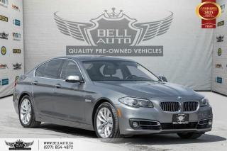 Used 2016 BMW 5 Series 528i xDrive, AWD, Navi, SunRoof, RearCam, NoAccident, Sensors for sale in Toronto, ON