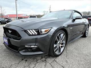 Used 2017 Ford Mustang GT Premium | Cooled Seats | Convertible | Navigation for sale in Essex, ON
